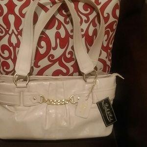 Vintage leather NEW handbag